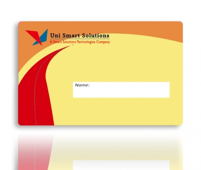 Card with Signature Panel