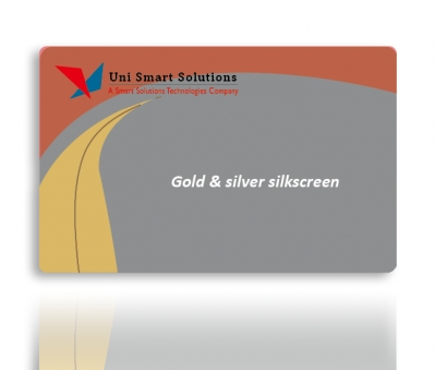 Gold/Silver Card