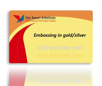 Card with Embossing